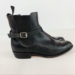 Frye Dorado Chelsea Black Size 7